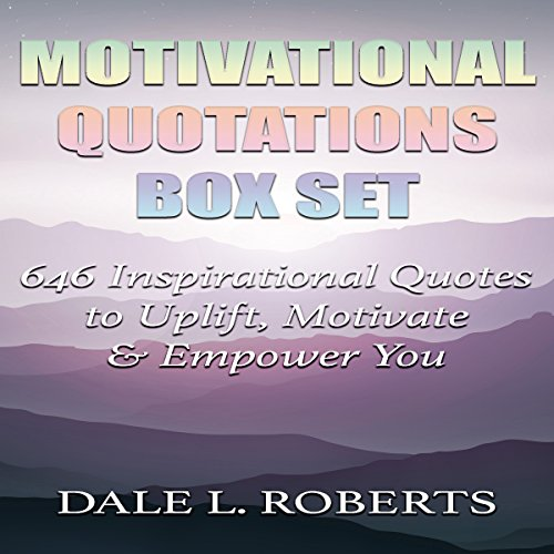 Motivational Quotations Box Set audiobook cover art