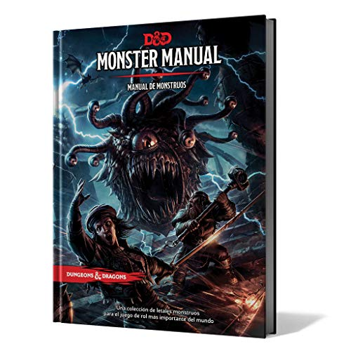MONSTER MANUAL: MANUAL DE MONSTRUOS
