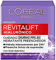 Creme Revitalift Hialurônico Diurno Fps 20, L'Oréal Paris