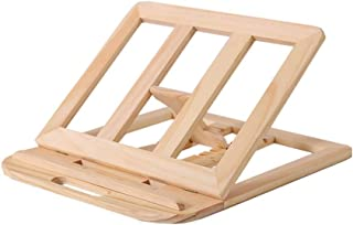 Laptop Tray, Multi-angle Adjustment Computer Cooling Rack Collapsible Portable Solid Wood (4 Colors) (Color : Pine)