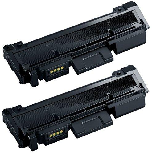 Prestige Cartridge MLT-D116L Pack de 2 Cartuchos de tóner láser compatibles para Samsung Xpress SL-M2625 M2625D M2626D M2675 M2675F M2675FN M2825DW M2825ND M2835DW M2875FD M2875FW M2875ND M2885FW