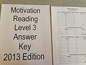 motivation reading answer key level 3