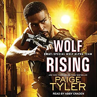 Wolf Rising     SWAT, Book 8              Written by:                                                                                                                                 Paige Tyler                               Narrated by:                                                                                                                                 Abby Craden                      Length: 10 hrs and 28 mins     Not rated yet     Overall 0.0