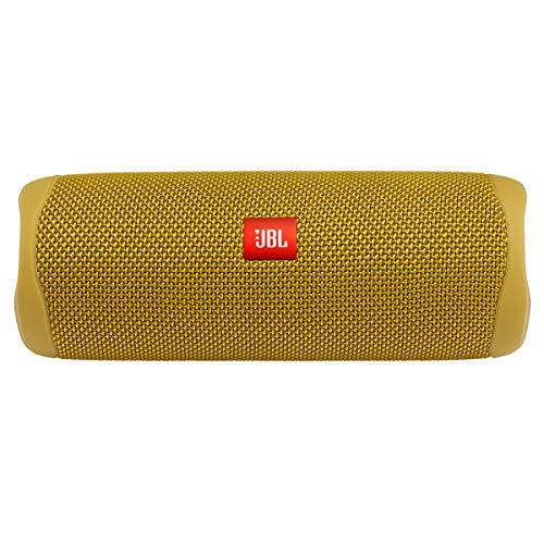JBL FLIP 5, Waterproof Portable Bluetooth Speaker, Yellow (New Model)