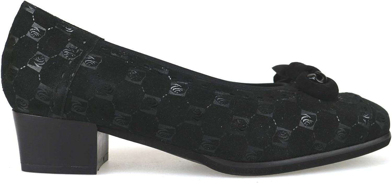 STARLET Pumps-shoes Womens Suede Black