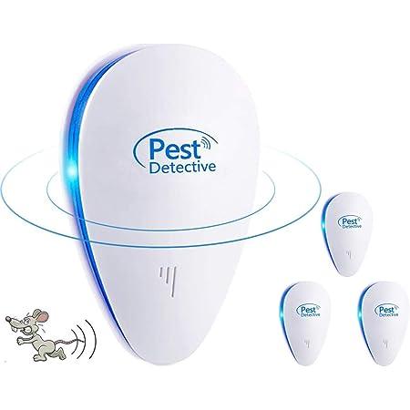 Vawcornic Ultraschall Schädlingsbekämpfer 2 Stück Elektronische Innenräumen Pest Repeller Insektenschutzmittel Plug In Für Mäuse Kakerlaken Spinnen Mücken Garten