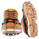 Cutiful Traction Cleats Crampons Ice Snow Cleats Ice Grips Grippers Microspikes Men Women