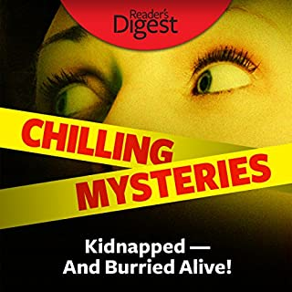 Kidnapped - and Buried Alive! audiobook cover art