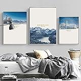 SHINERING Moderne Minimalistische Bayerische Alpen
