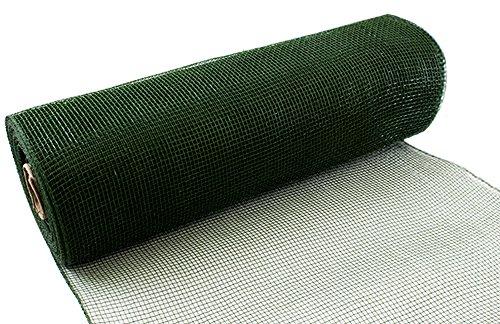 Eleganza Salbei Nr. 51Deco Mesh, grün, 25cm x 9,1m
