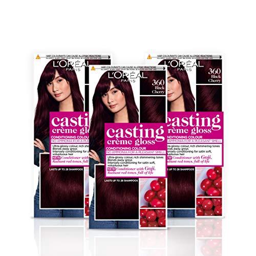 L'Oréal Paris Casting Creme Gloss 360 Black Cherry, 260 ml