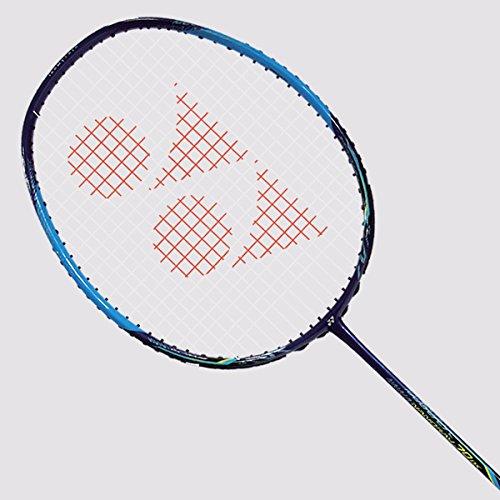 YONEX Nanoray 70DX schwarz/Lime besaitet Badminton Schläger, Blue Unstrung