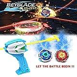Wembley Toys Top Fusion Burst with Launcher Set Spinner Valtryek Multicolour Burst