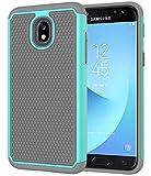Galaxy J7 2018 Case,Galaxy J7 Refine Case,Galaxy J7 Star Case,Galaxy J7 Crown Case,Galaxy J7 V 2nd Gen Case,J7 Aura Case,Asmart Defender Cover Protective Phone Case for Samsung Galaxy J7V 2018,Mint