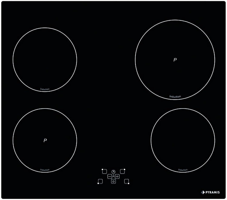 Pyramis 58Inducción 489Touch Inducción hobs Autark placas de inducción de interfaz