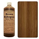 Tinte para madera a base de agua de Littlefair's, respetuoso con el medio ambiente, Caoba Marrón, 500 ml