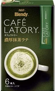 Blendy CAFE LATORY Rich Matcha Latte 13g x6sticks(import japan)