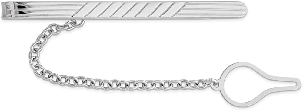 Factory outlet Ryan Jonathan Austin Mall Fine Jewelry Sterling Silver Men's Bar Tie