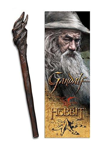 The Noble Collection Gandalf Stabschreiber und linsenförmiges Lesezeichen