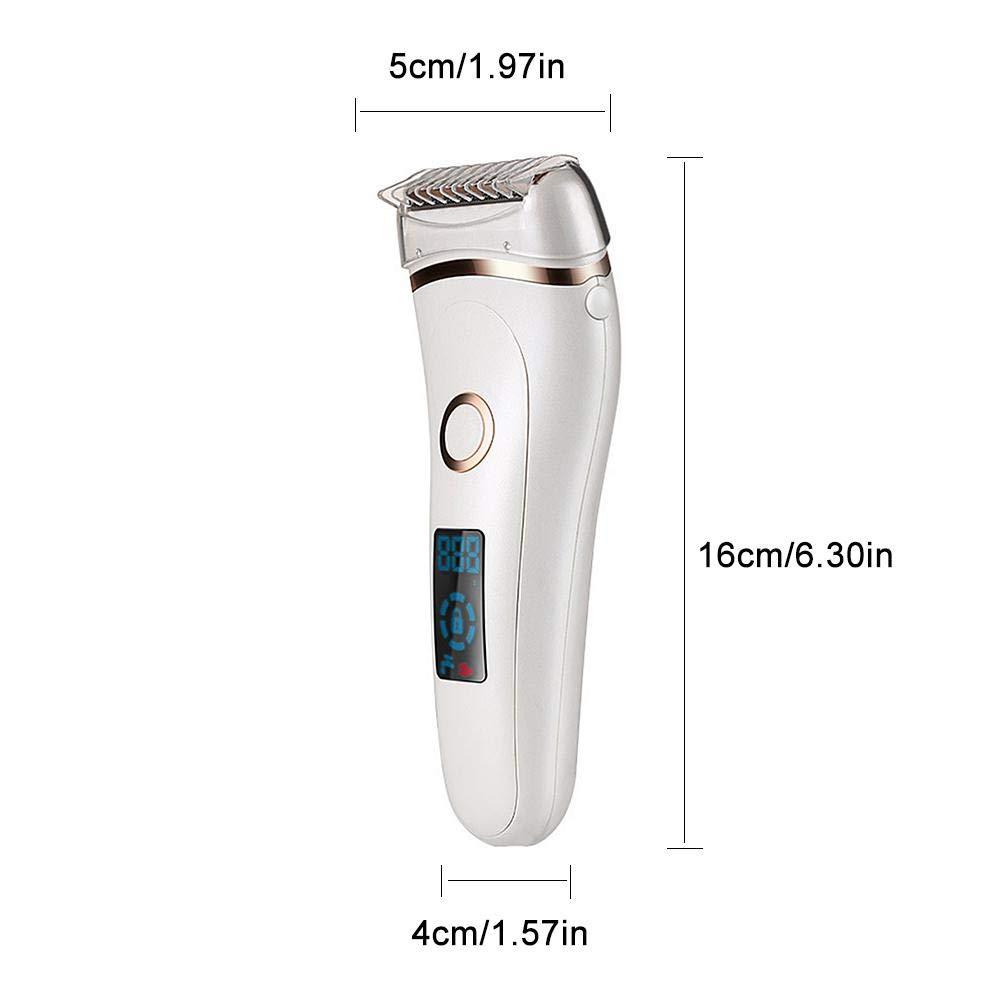 WXGY Afeitadora Recargable USB Depiladora Recortadora de Cabello ...