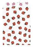 カクケイ 紙袋 平袋いちご柄 8号 フ-628 1セット(400枚)