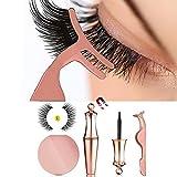 Magnielash Kit, Magnetic Eyeliner Kit, Magnetic Eyelashes, Magnetic False Lashes (Doha-5)