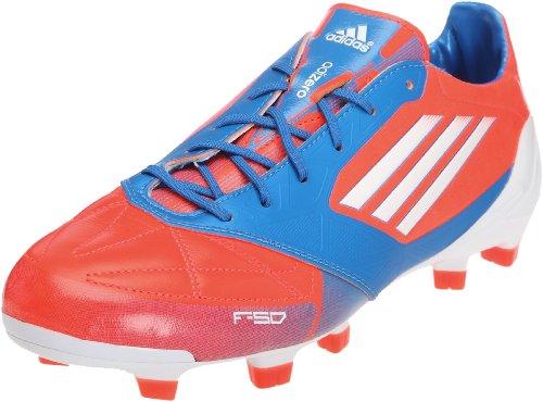 Adidas F50 Adizero Trx Fg Leather - Zapatillas de fútbol, Azzurro, 39 1/3