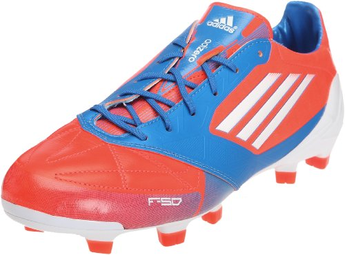 adidas Unisex-Erwachsene F50 Adizero TRX FG Leather Schuhe, Orange Blau, 42 EU