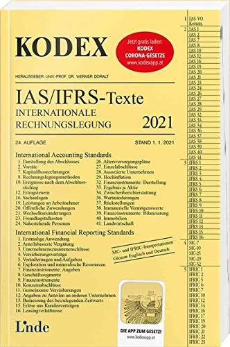KODEX Internationale Rechnungslegung IAS/IFRS - Texte 2021 (Kodex des Internationalen Rechts)