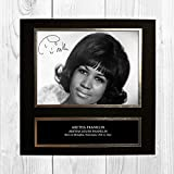 Aretha Franklin 1 NDB Signed Reproduction Autographed Wall