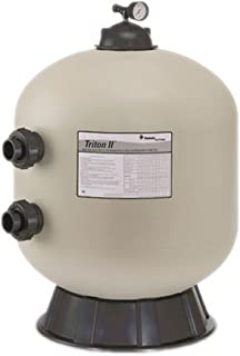 Pentair 140212 Triton II Side Mount Fiberglass Sand Pool Filter with ClearPro Technology , 3.14 Square Feet, 63 GPM (Residential), without Valve or Unions