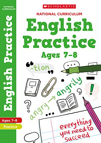 English practice book for ages 7-8 (Year 3). Perfect for Home Learning....