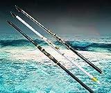 TYBXK Caña de Pescar Pesca 2.7M-6.3M Rod del mar Roca Varilla de Carbono caña de Pescar telescópica Superhard Rocosas Polo Mano mar Rod Doble Uso caña de Pescar Polo 94