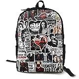 Vampire Diaries 3D Print Backpack Children Cute School Bag Galaxy Bookbags for Girls Boys High School and College
