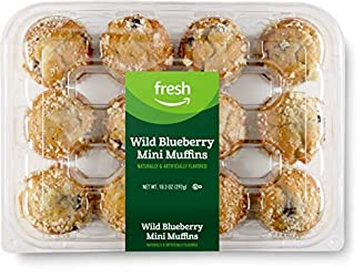 Fresh Brand – Wild Blueberry Mini Muffins, 10.3 oz (12 ct)