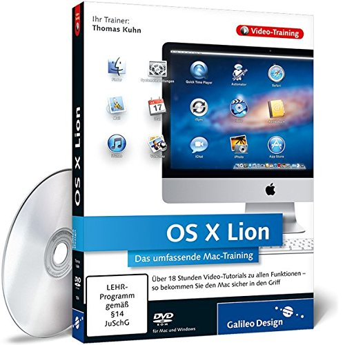 OS X Lion - Das umfassende Mac-Training [import allemand]