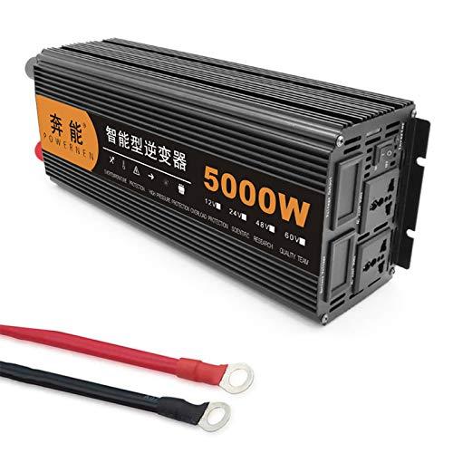 Reiner Sinus Wechselrichter 3200 W / 4000 W / 5000 W / 6000 W / 8000 W / 9000 W / 12000 W / 15000 W Spannungswandler DC 12V/24V Auf AC 230V Umwandler - Inverter Konverter (5000W,24V)