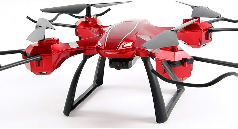 AB drone LJWRJ Drohnenluftfotografie HD professionelle Handy-Fernbedienung Flugzeuge Spielzeug Jungen vierachsigen Flugzeugen langlebigen Modus - rot -1080P Luftbildfotografie