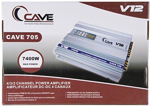 Cave car 4 Channel Car Amplifier Cave61 (Cave-705)