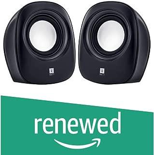 (Renewed) iBall Soundwave 2 2.0 Channel Multimedia Speakers, Black