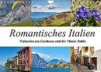 Romantisches Italien - Malcesine am Gardasee und der Monte Baldo (Wandkalender 2022 DIN A4 quer): Impressionen aus Malcesine und vom Gipfel des Monte Baldo (Monatskalender, 14 Seiten )