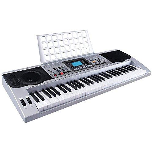 Mecor MK-810 61 Tasten musikalisches digitales Keyboard elekronisches Klavier elektronische Orgel tragbar