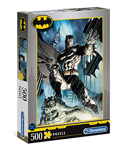 Clementoni Batman – Fabricado en Italia – Rompecabezas para Adultos de 500 Piezas (35088)