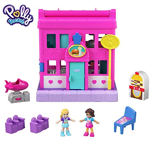 Polly Pocket Centro de diversión para muñecas (Mattel GGC30)
