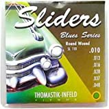 CUERDAS GUITARRA ELECTRICA - Thomastik (SL110) Sliders Blues Guitar (Juego Completo 010/048E)