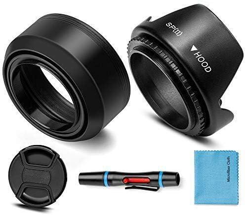 55mm Mm Gegenlichtblende Set Fotover Universal Kamera