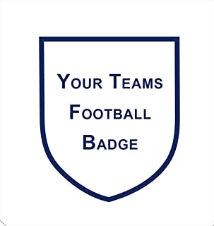 """Football Badge Icing Cake Topper, Any Team (3"""" High X 2"""