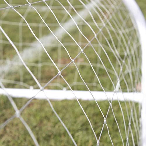 Airwave Strike Children's Weatherproof Football Goal, White, 8x6ft