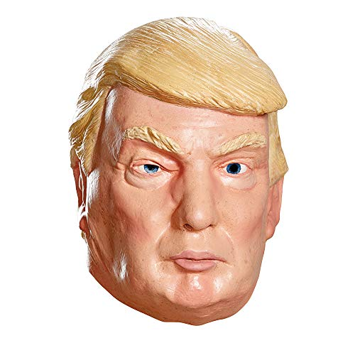 Disguise Men's Donald Trump Deluxe Mask, Multi, One Size