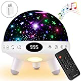 Yachance Baby Star Projector Night Light for Kids with Music White Noise Sound Machine...